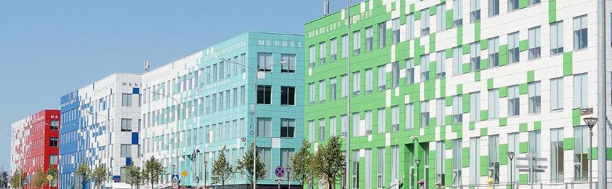 Территория инновационного центра Сколково